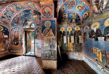 Церкви з розписами в районі Троодос